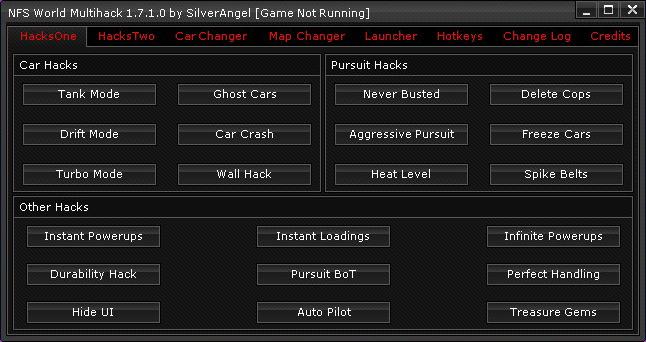 Скачать NFS World Multihack 1.7.1.0
