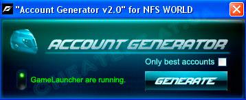 Скачать Account Generator v2.0
